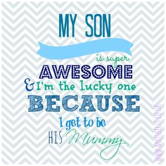 My Son.... | Life According to Mrs Shilts