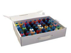 Polyester Starterset mit 48 Farben