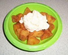 Nixie's faux Apple Pie ala Mode