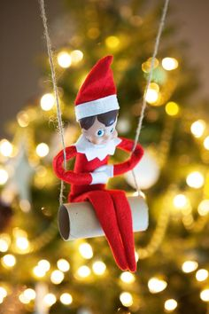 More than 40 Easy Elf on the Shelf Ideas - simple as that