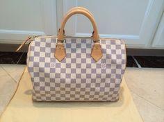 Louis Vuitton Speedy 30 Azur Bag - Satchel $880