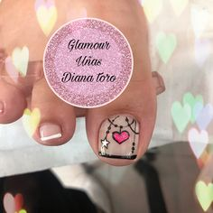 Pedicure Designs, Pedicure Nail Art, Nail Designs, Spring Nail Art, Spring Nails, Toe Nails, Toenails, Pretty Nails, Sour Cream