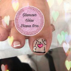 Pedicure Designs, Pedicure Nail Art, Nail Designs, Spring Nail Art, Spring Nails, Pedicures, Toe Nails, Toenails, Pretty Nails