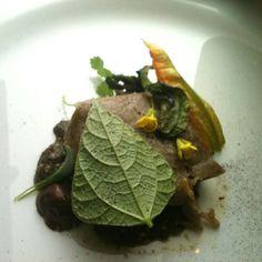 Tamal de hongos del chef Enrique Olvera
