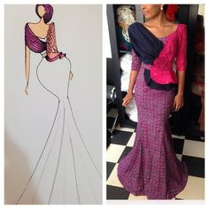 Do you need a professional tailor(s) to work with? Gazzy Consults is here to fill that void and save you the stress. We deliver both local and foreign tailors across Nigeria. Call or whatsapp 08144088142 African Wear, African Women, African Fashion, African Blouses, Africa Dress, African Fabric, African Prints, Fashion Prints, Fashion Design