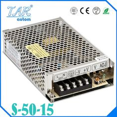 19.00$  Buy now - http://ali3xx.shopchina.info/go.php?t=32667460194 - Best quality 15V 3.4A 50W Switching Power Supply Driver for LED Strip AC 100-240V Input to DC 15V free shipping 19.00$ #buyonlinewebsite