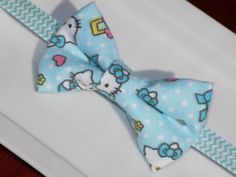 Handmade Girls Baby Blue fleece Hello by momsbowtiqueprincess