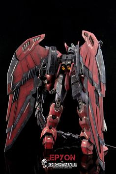 MG 1/100 OZ-13MS Gundam Epyon - Painted Build   Modeled by Knightmare