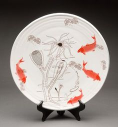 ceramic pieces by justin rothshank. Mixed motif perfection!