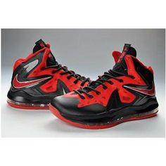 Nike LeBron 10 P.S. Elite Varsity Red/Black