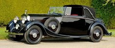 1934 Sedanca Coupé by Mulliner