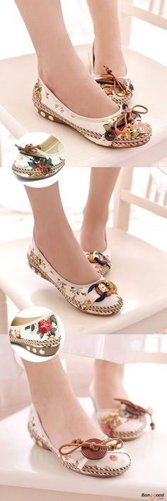 US$13.66+Free shipping.Summer Shoes, Women Flat Shoes, Shoes Flats, Women Fashion Casual, Women Fashion for Summer. Love retro style, casual, outdoor, comfortable. Heel Height: 1.5cm. Colorful. Upper Material: Linen Cloth. Outsole Material: Rubber. Size(US): 5-9.
