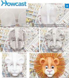Máscaras depapel Publicado el octubre 13, 2012 por Barbara- Paper Masks Posted on October 13, 2012 by Barbara