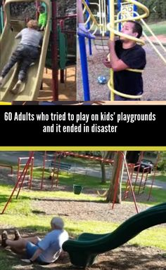 Some adults when they take their kids to the playground cannot resist acting like kids themselves and here are 60 examples of what happened when they did Halloween Horror, Happy Halloween, Childhood Days, New Pins, Cute Puppies, Amazing Photography, Children, Kids, Acting
