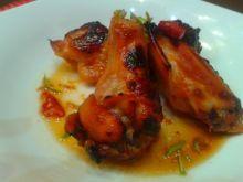 Skrzydełka pieczone w miodzie i sosie sojowym Tzatziki, Tandoori Chicken, Ethnic Recipes