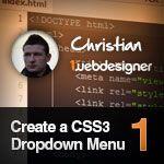 Creating a CSS3 Dropdown Menu – Video Tutorial by @Dainis Graveris