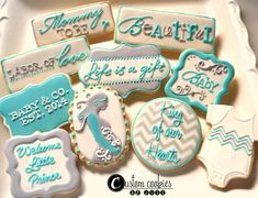 Congratulations on your pregnancy!     http://www.customcookiesbyjill.com