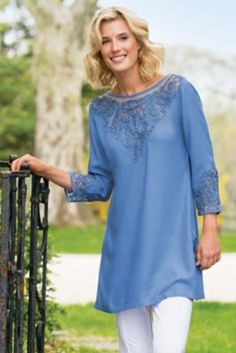 Touch Of Soutache Top from Soft Surroundings