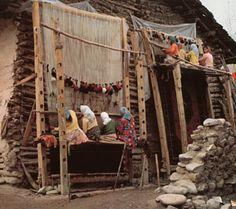 Liceras de Valdeolea: glosario alfombra (6): los telares