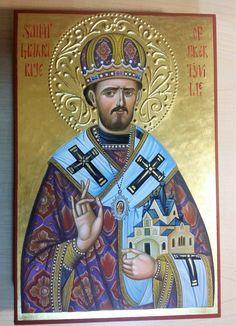 St. Mardarije (Uskokovic) icon hand-painted by Georgi Chimev