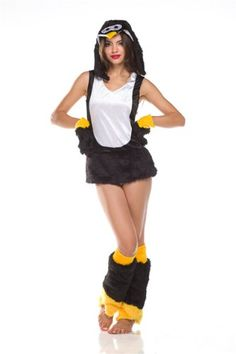 Here are the best selling and top rated Penguin Halloween costumes in all sizes. What is a unique Halloween costume idea for Penguin costumes! Penguin Halloween Costume, Halloween Costumes 2014, Hooded Dress, Dress Gloves, Yellow Black, Leg Warmers, Penguins, Carnival, Amazon