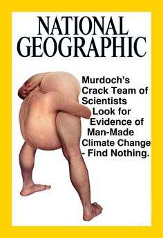"""Notorious Climate Skeptic Rupert Murdoch Just Bought National Geographic"""