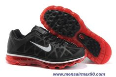 Black Sport Red Silver 431873-018 Nike Air Max 2011 Mens Sale