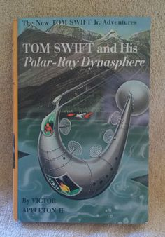 1965 Tom Swift and His Polar-Ray Dynasphere by Victor Appleton II Sci-Fi Book by ThisChicksJewels on Etsy