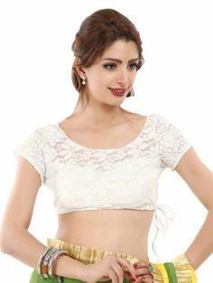 lace saree blouse