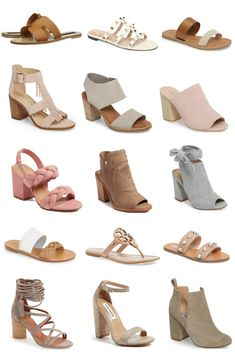 Zappos Women S Luxury Shoes Bootie Sandals, Sandals Outfit, Women's Shoes Sandals, Flat Sandals, Women Sandals, Wedges Outfit, Flat Booties, Nude Sandals, Heeled Sandals