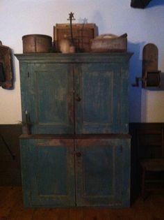 Blue Cupboard