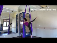 """The """"Angel"""" aka """"Eagle"""" with Aerial Physique- Aerial Silk Tutorials"""