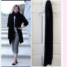 Zara Long knitted scarf Super comfy and warm Zara Accessories Scarves & Wraps