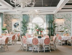 Poolside Aqua and Coral Summer Wedding - Inspired By This