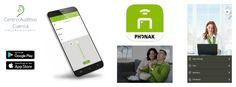 La aplicación Phonak Remote app es muy intuitiva y fácil de usar. Tu móvil se convierte en un mando a distancia. Centro Auditivo Cuenca.