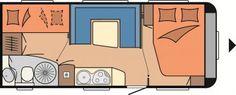Wohnwagen Hobby De Luxe 545 KMF - Vorber.Dachklima,Fußbodenhzg.,1750 kg - ID: AST194422 #Hobby #De Luxe #545 KMF #Wohnwagen - Caravans - Wohnwagen & Reisemobile