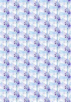 Fond - Paper - Printable - Stripe - Blue