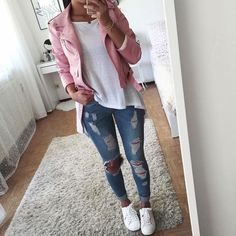 Here is Teen Outfit Ideas Pictures for you. Teen Outfit Ideas 61 most cute casual summer outfits ideas for teen girls. College Outfits, Outfits For Teens, Fall Outfits, Summer Outfits, Simple Outfits, Casual Outfits, Cute Outfits, Teen Fashion, Fashion Outfits