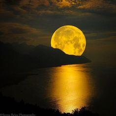 Moon in Switzerland