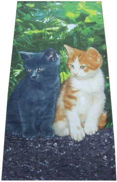 Cat Bathroom Towels | ... > Beach towel > Beach towel or Bath towel Cat 75x150 cm 100% cotton