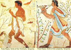 Etruscan Tomb Paintings (2): Ancient Man and His First Civilizations