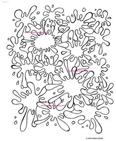 Adult Coloring Page Love Hippie by BigTRanchColoring on Etsy