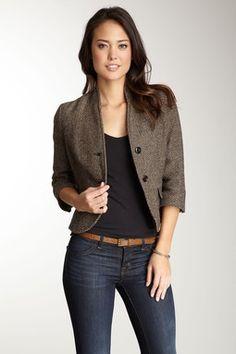 <3 this Tweed Blazer from www.hautelook.com