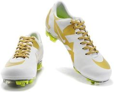 Popular New Nike Mercurial Vapor SuperFly III Elite FG Safari Real Madrid Soccer Team Cleats In White Gold2