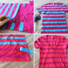 diy - t-shirt spray bleach ideas