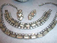 3 piece vintage Juliana Satin pearl wedding by JNPVintageJewelry, $145.00