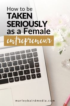 How to be Taken Seriously as a Female Entrepreneur (Business Tips from a CEO) - Marley Jaxx Business Entrepreneur, Business Tips, Online Business, Insurance Marketing, Sales Techniques, Powerful Quotes, Earn Money Online, Be Yourself Quotes, How To Find Out