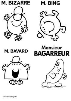16 Meilleures Images Du Tableau Monsieur Madame Behaviour Chart