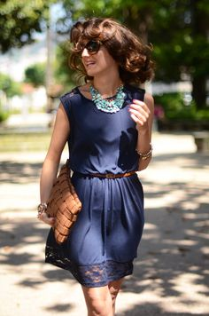 dress- celop punto, sandals-zara, necklacese-H, clutch-westrags