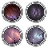 """Bestselling Mineral Eyeshadow sets are back in stock! """"We are the weirdos, mister."""" Unique purples + magical duochromes = the perfect shades for conjuring up endless spells! Silky-soft and super-pigme"""
